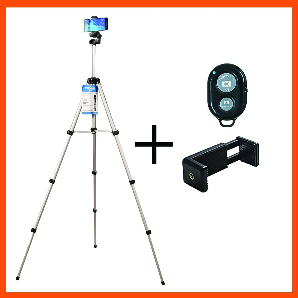 TRIPOD TYPE TR 3130, PHONE MOUNT, BLUETOOTH REMOTE CONTROL